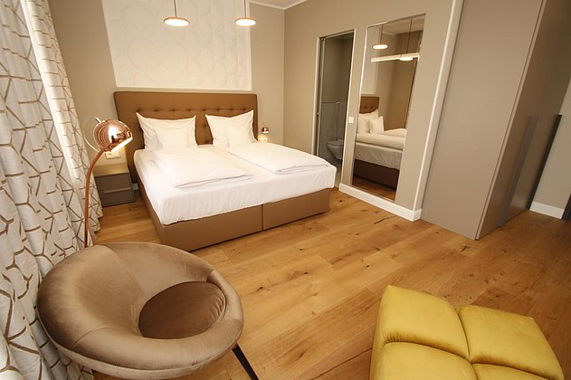 Doppelzimmer Hotel Amelie
