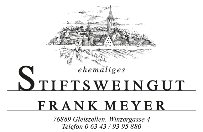 Logo Stiftsweingut Frank Meyer