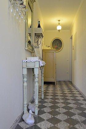 Eigener Eingangsbereich zu den Gästezimmer
