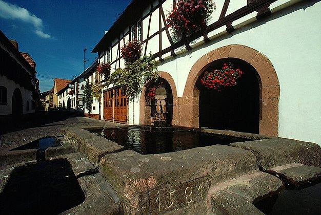 Ortsbrunnen Leinsweiler
