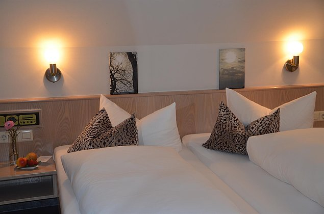 Doppelzimmer im Castell - Leinsweiler