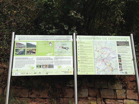 Gräfenhausen Infotafeln