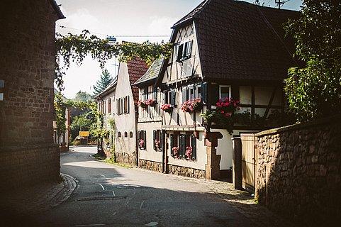 Weinstraße in Siebeldingen
