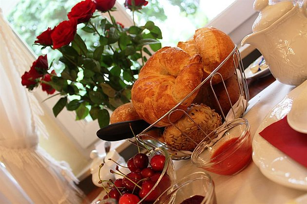 Frühstück Gästehaus Edelhof Minges