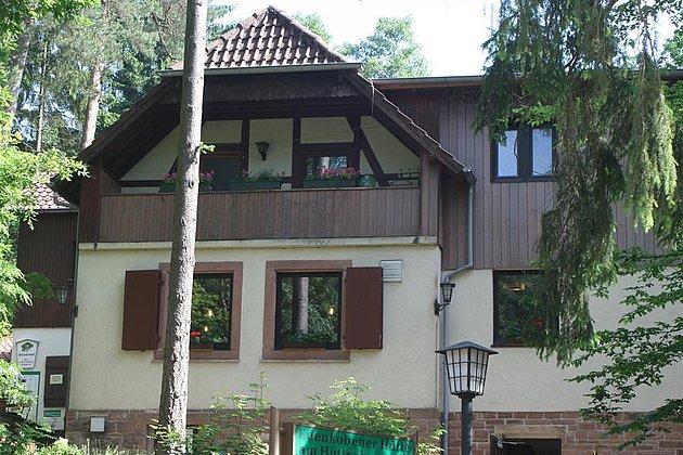 Hüttenbrunnen Außenansicht