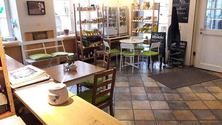 "Café, Restaurant ""ich bin so frey"""