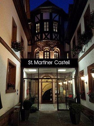 Restaurant Castell Eingang