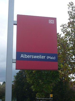 Wanderbahnhof Albersweiler