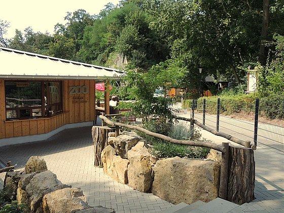Eingang Zoo Landau