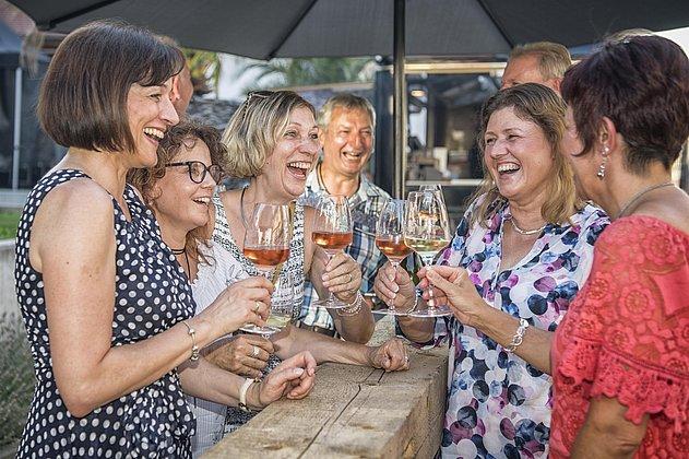 Pfälzer Lebensfreude auf dem Weinfest