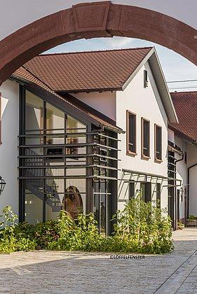 Innenhof Wein- und Sektgut Wilhelmshof