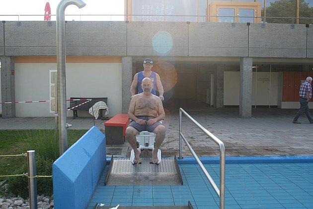 Behindertengerechter Einstieg